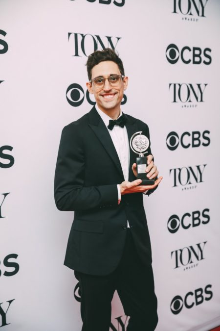 Tony Awards Winner Circle - Justin Peck - 6/18 - EMK