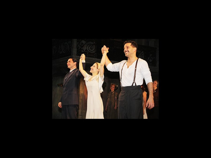 Evita Opening- Michael Cerveris