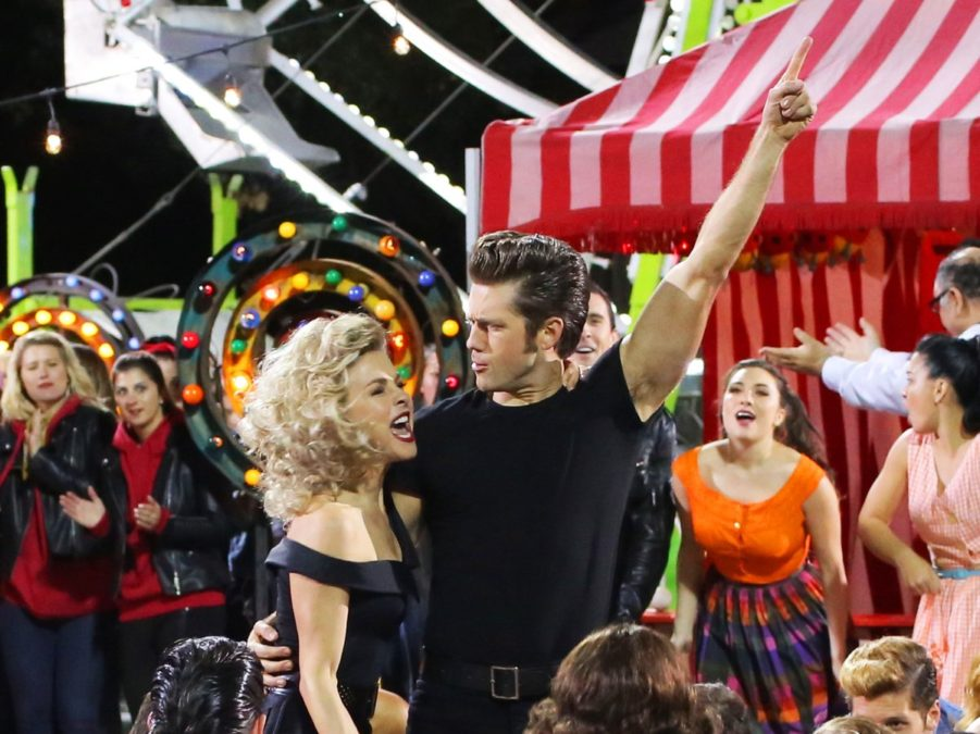 PS - Grease Live - Aaron Tveit - Julianne Hough - 2/16 - Kevin Estrada/FOX