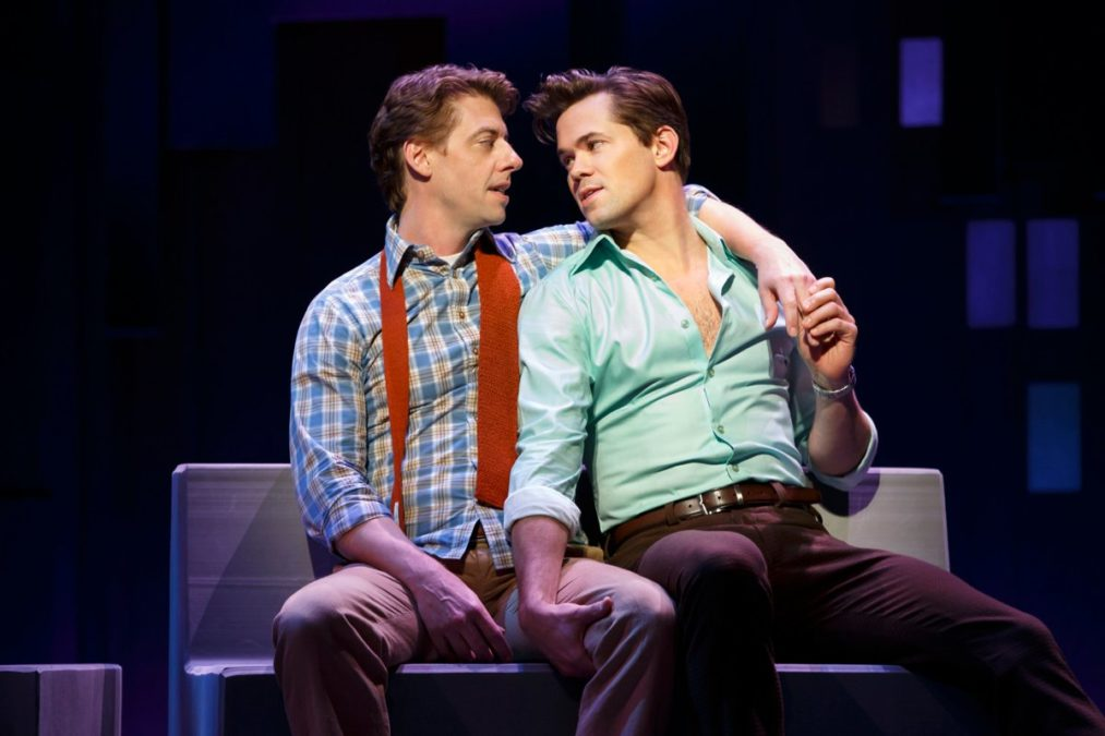 Show Photos - Falsettos - 10/16 - Andrew Rannells - Christian Borle - Photo: Joan Marcus