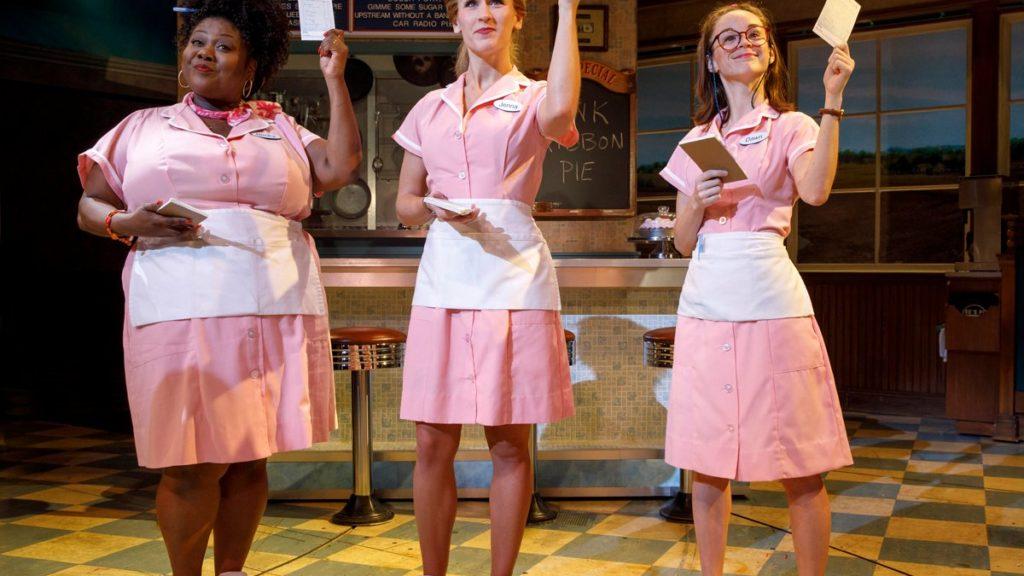 HS - Waitress - Maia Nkenge Wilson - Stephanie Torns - Caitlin Houlahan October Breast Cancer - 9/17 - Joan Marcus