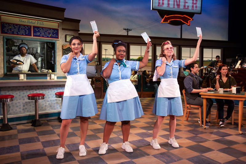 Jisel Soleil Ayon, Kennedy Salters and Gabriella Marzetta in Waitress_Credit Jeremy Daniel_WAIT_0345