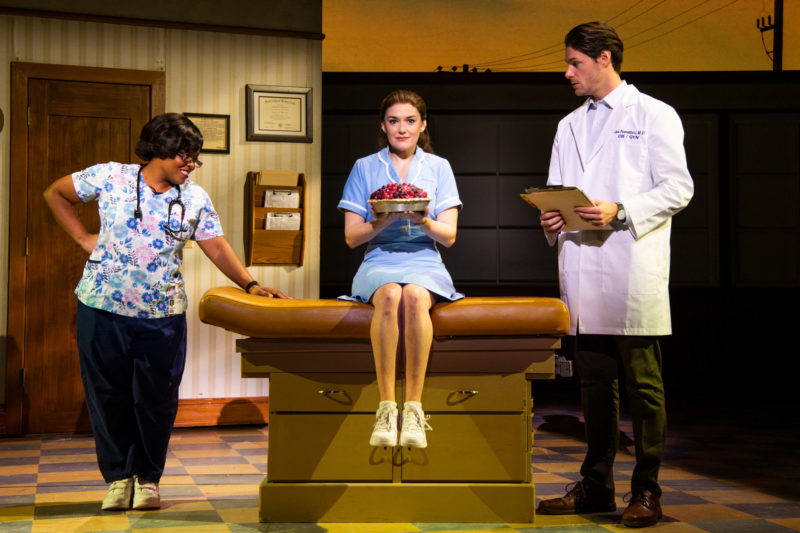 Rheaume Crenshaw, Christine Dwyer and Steven Good in the National Tour of Waitress Credit Philicia Endelman DSC_1157