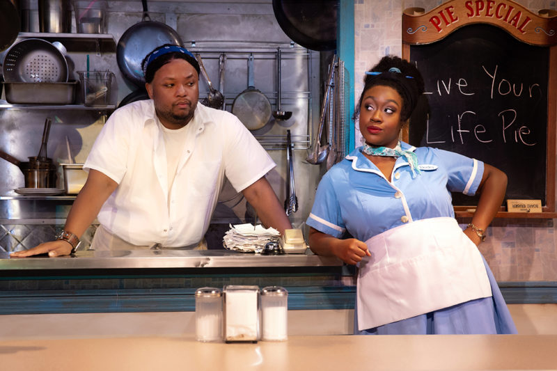 Richard Coleman and Kennedy Salters in Waitress_Credit Jeremy Daniel_WAIT_0210+1069