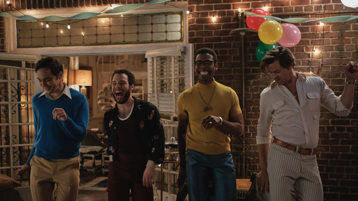 Boys in the Band Film - Jim Parsons - Robin De Jesús - Michael Benjamin Washington - Andrew Rannells - 8/20 - Netflix