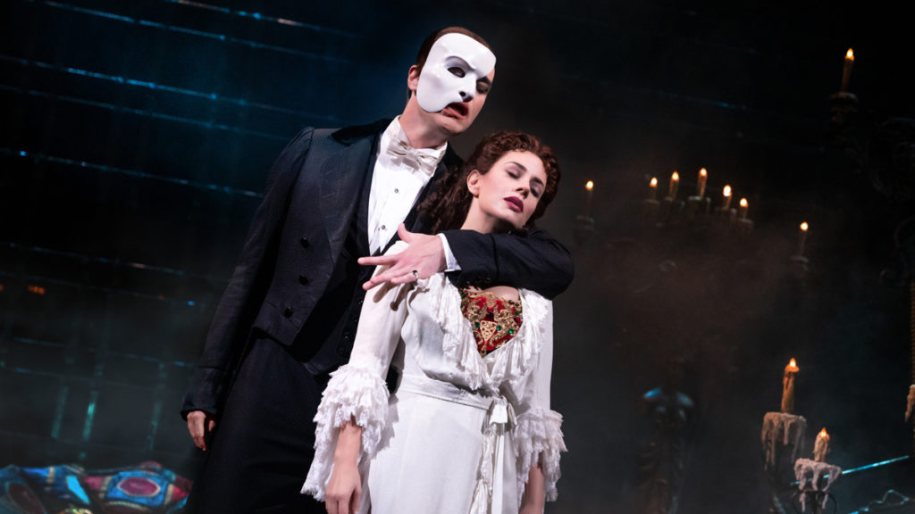 Show Photos - The Phantom of the Opera - 12/19 - Ben Crawford - Meghan Picerno - Photo: Matthew Murphy