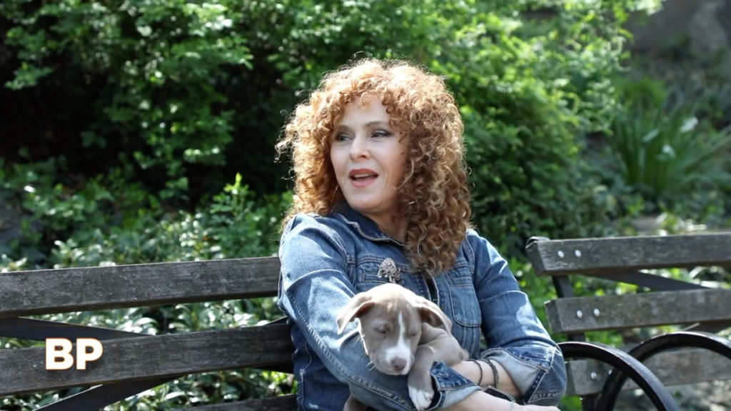 WI - Broadway Profiles - Tamsen Fadal - Bernadette Peters - 5/21