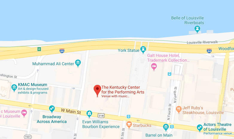 Kentucky Center location